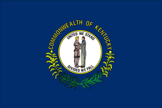 Kentucky State Nylon Flags
