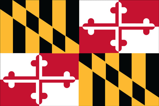 Maryland State Nylon Flags