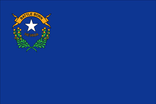Nevada State Nylon Flags