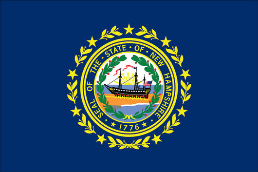New Hampshire State Nylon Flags