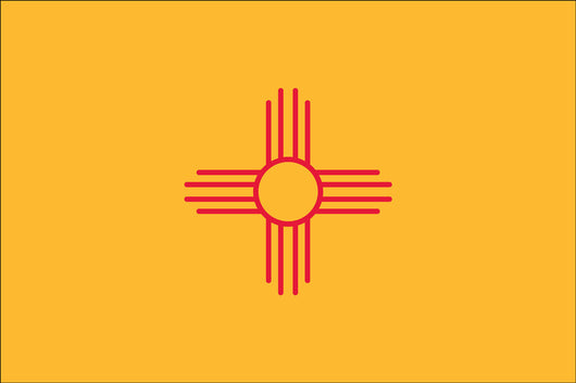 New Mexico State Nylon Flags