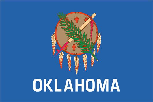 Oklahoma State Nylon Flags