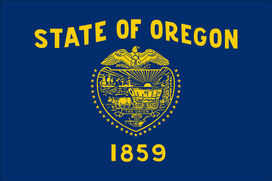 Oregon State Nylon Flags
