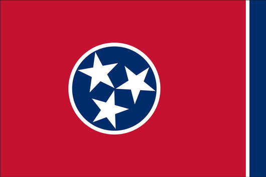 Tennessee State Nylon Flags