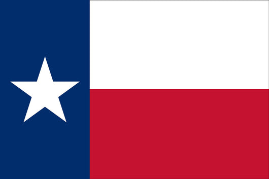 Texas State Nylon Flags