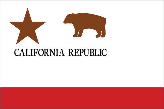 California Republic Nylon Flag