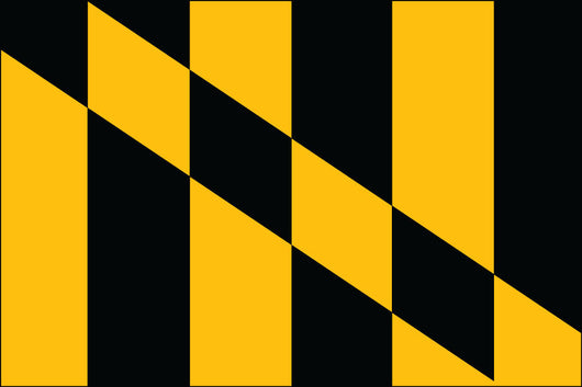 Lord Baltimore Nylon Flag