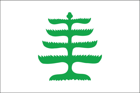 Pine Tree Nylon Flag