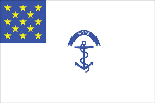 Rhode Island Regiment Nylon Flag