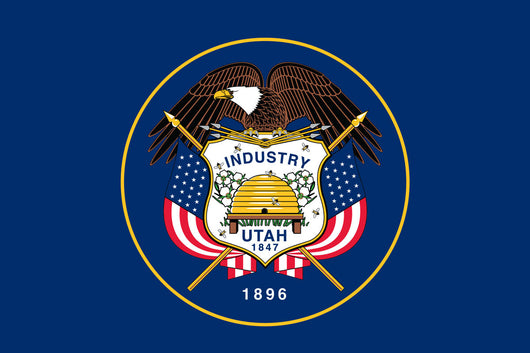 Utah State Nylon Flags