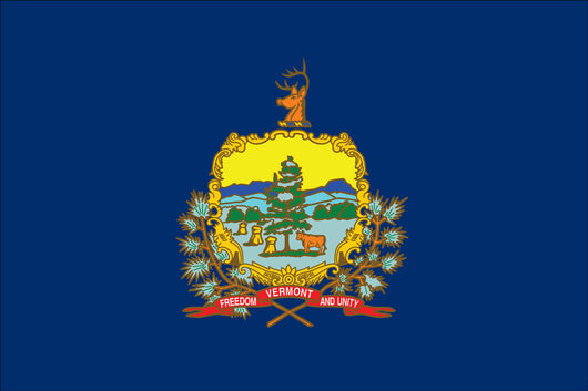 Vermont State Nylon Flags