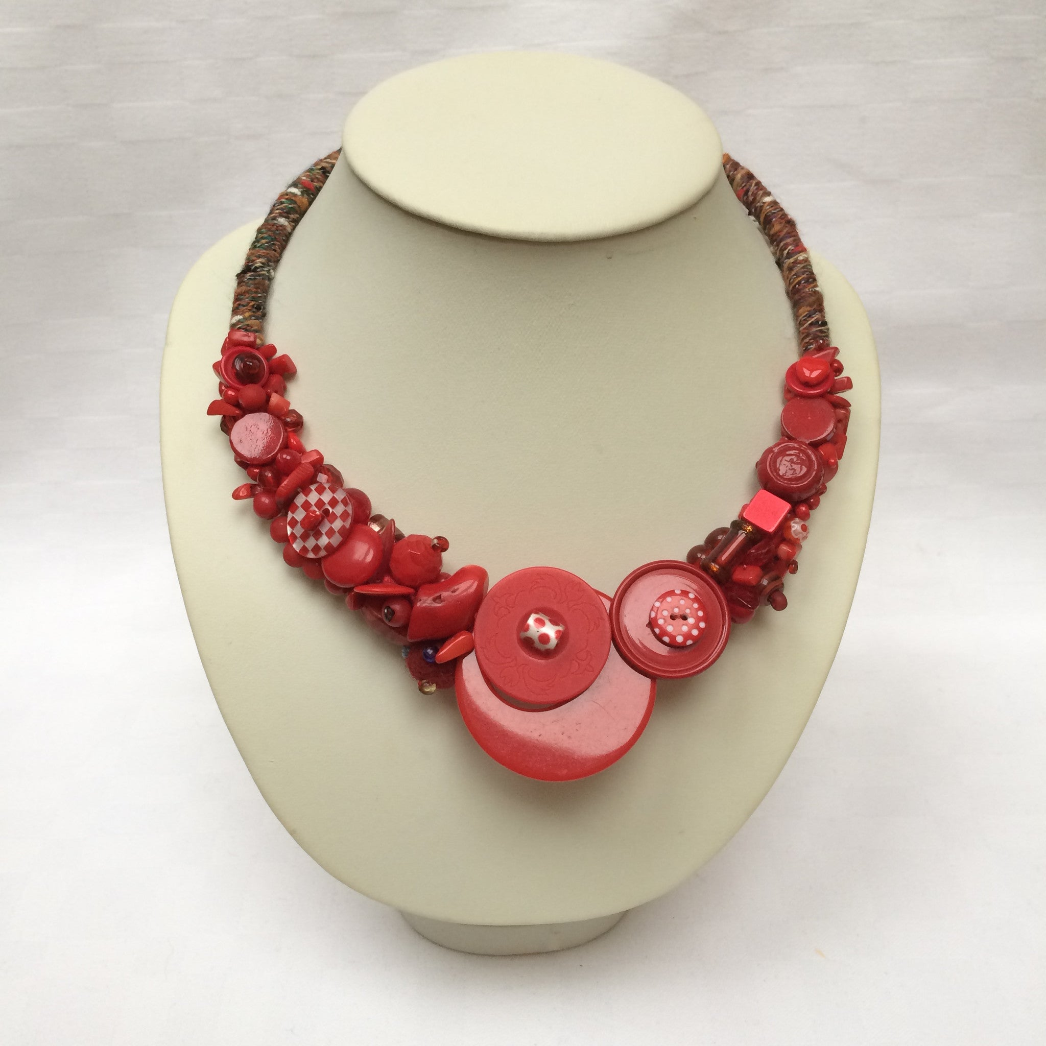 Red Collar necklace