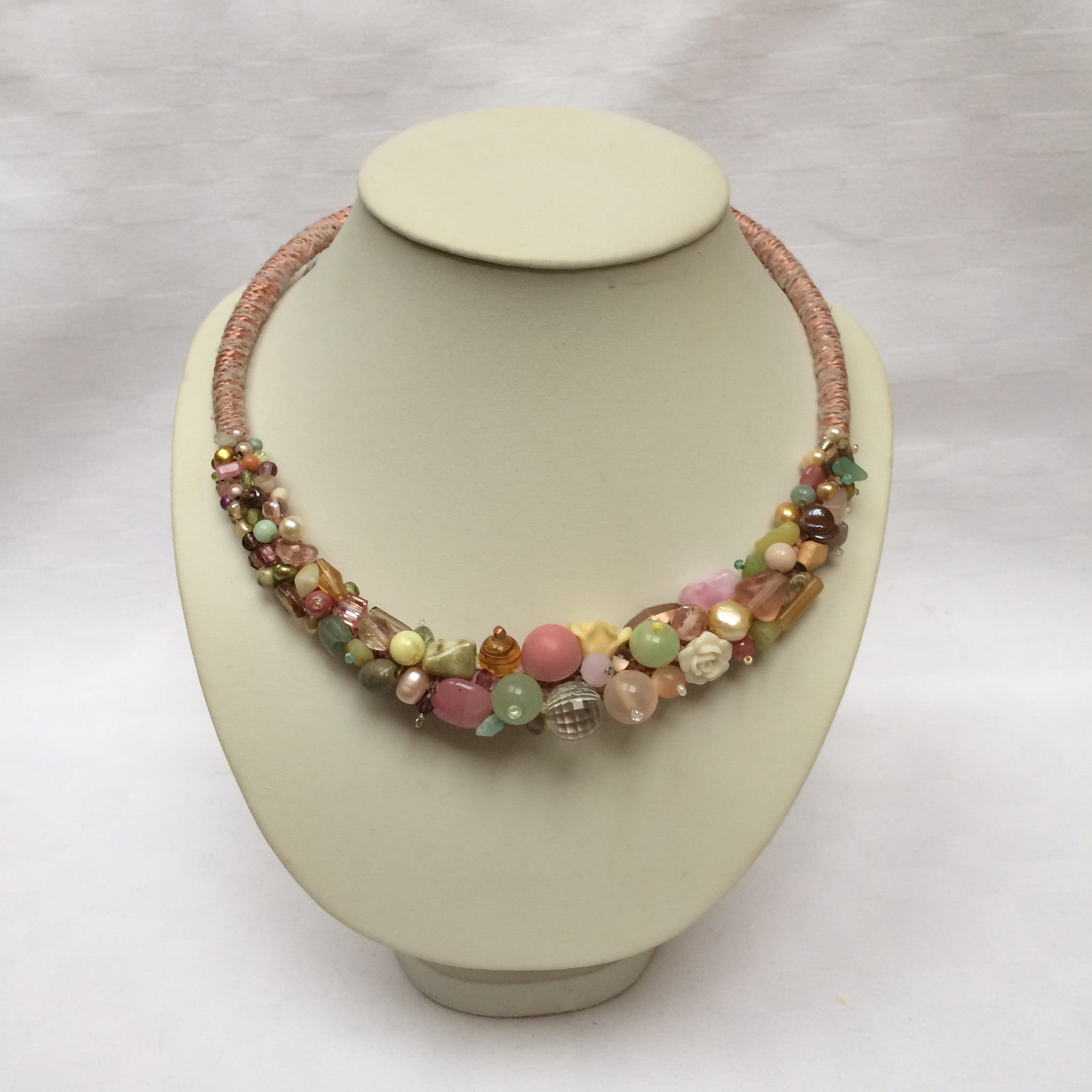 Pretty Pastel Collar necklace