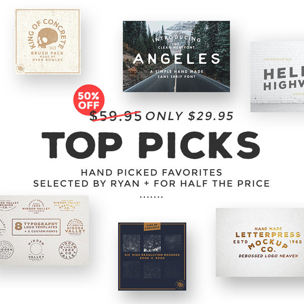 Hand Picked Favorites (50% OFF!)