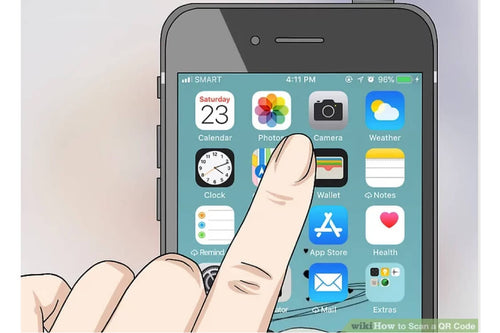 iphone finger selecting