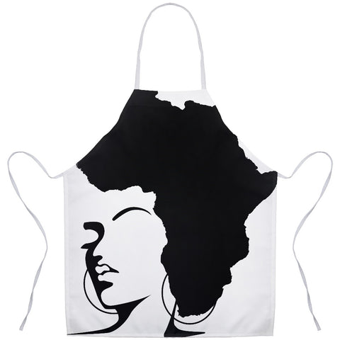 The Rooted Queen Apron - Natural Curls Club