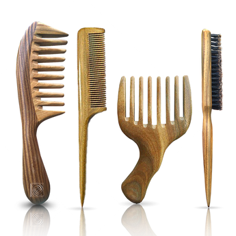 Bundle: 1 Signature Comb + 1 Pik + 1 Edge Brush + 1 Rat Tail Comb - Natural Curls Club