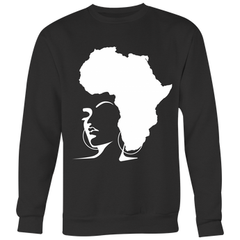 The Rooted Queen Crewneck Sweatshirt - Natural Curls Club