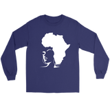 The Rooted Queen Ladies' Long Sleeve T-Shirt - Natural Curls Club