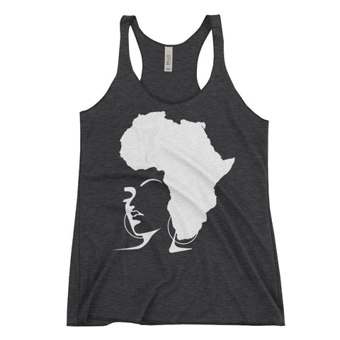 The Rooted Queen Women's Racerback Tank - Natural Curls Club