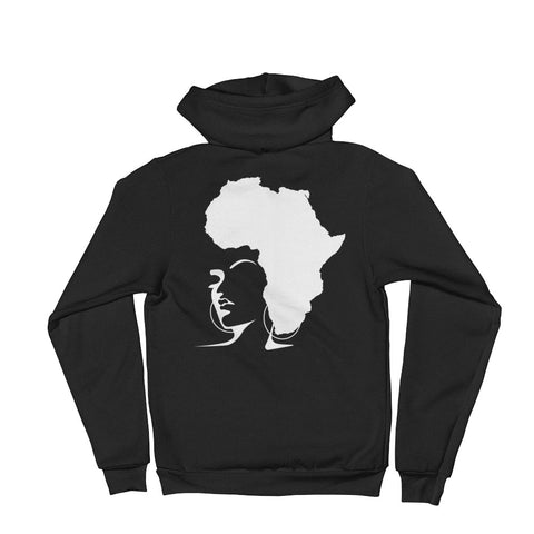 The Rooted Queen Hoodie sweater - Natural Curls Club