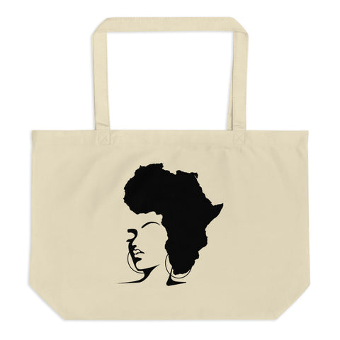 The Rooted Queen Cotton Tote Bag