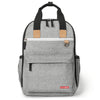 Skip Hop - Grey Melange Duo Nappy Backpack