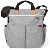 Skip Hop Duo Signature Nappy Bag - Grey Melange