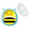 Skip Hop Zoo Brooklyn Bee Smart Serve Plate & Bowl