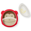 Skip Hop - Monkey Zoo Eat Neat Plate Set