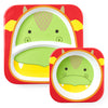 Skip Hop - Dragon Zoo Melamine Plate & Bowl Set