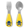 Skip Hop Zoo Bailey Bat Utensil Set