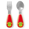 Skip Hop Zoo Dillon Dragon Utensil Set