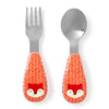 Skip Hop - Fox Zootensils Fork and Spoon Set