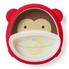 Skip Hop Zoo Marshall Monkey Smart Serve Plate & Bowl