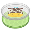 Skip Hop - Giraffe Smart Serve Non-Slip Plates