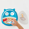 Skip Hop Zoo Otis Owl Smart Serve Plate & Bowl
