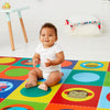 Skip Hop Doubleplay Reversible Playmat - Zoo & Multi Dots