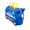 Trunki Ride-on Luggage - Percy Police Car