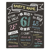 Pearhead Baby Monthly Chalkboard