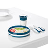 OXO TOT Divided Plate - Navy
