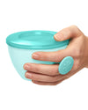 Skip Hop Easy Grab Bowls - Grey/Soft Teal