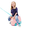 Trunki Ride-On Luggage - Flossi the Flamingo