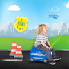 Trunki - Percy Police Car Ride-on Luggage