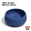 OXO Tot Silicone Bowl - Navy