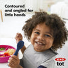 OXO Tot Silicone Spoon Twin Pack - Navy