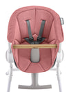 Beaba - Pink Textile Seat for Highchair