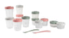 Beaba Stackable Food Jars - Eucalyptus