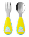 Skip Hop Zoo Simon Shark Utensil Set