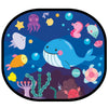 Cling Sunshade - Under the Sea (2 pcs)